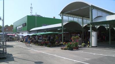 Elkészült a békéscsabai piac felújítása (fotó: Ujházi György)