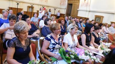 A bíróságok napját ünnepelték a Gyulai Törvényszéken 2019.07.11.-én. Fotó: Gyulai Törvényszék