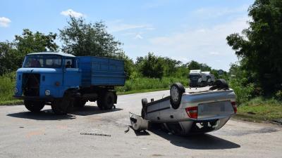 Az eleki baleset (fotó: police.hu)
