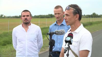 M 44 futás sajtótéjékoztató Tóth László, Kasnyik Gábor és Ribárszki Péter Fotó: Ujházi György