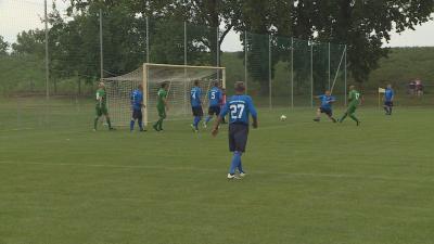 Szeghalmon járt a Ferencváros Öregfiúk válogatottja. Fotó: Tóth Áron