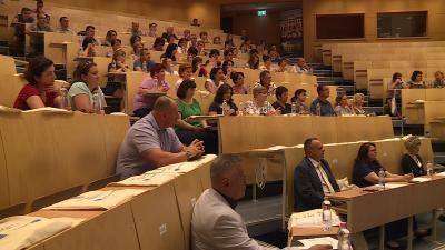Határon túli magyar pedagógusoknak tartottak továbbképzést. Fotó: Fazekas Róbert