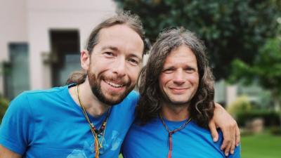 Suhajda Szilárd és Klein Dávid (fotó: facebook)