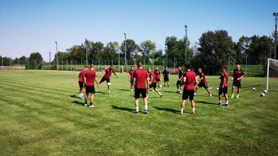 Vasárnap, a Nyíregyháza vendégeként lépnek pályára a csabai labdarúgók. Fotó: Papp Ádám