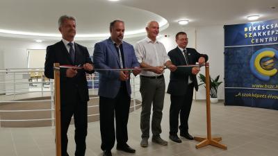 Szarvas Péter, Mucsi Balázs, Herczeg Tamás és Paláncz György (fotó: Sipos Gábor)