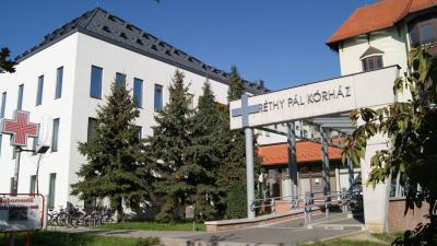 A Békés Megyei Központi Kórház Dr. Réthy Pál Tagkórháza. Fotó: bmkk.hu