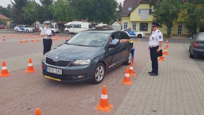 Polgárőrök versenyeztek. Fotó: police.hu
