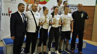 Vidékbajnokságot tartottak Szarvason. Fotó: Békés Megyei Harcművész Szövetség