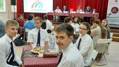 Békés megyei fiatalok lettek a másodikok a vetélkedőn. Fotó: Facebook/Andrássy Gyula Gimnázium és Kollégium