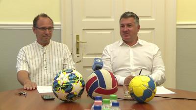 Magyar, neves sportolók és szakvezető érkeznek a következő egy hónapban Békéscsabára. Fotó: Tóth Áron
