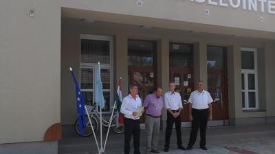 Takács Péter, dr. Árus Tibor, dr. Kónya Tamás, Majernik László (Fotó: Sipos Gábor)