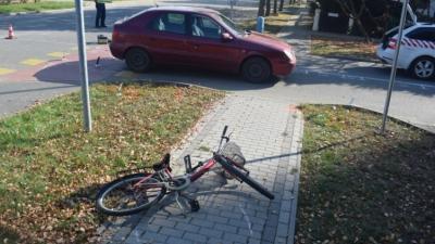 A szeghalmi baleset (fotó: police.hu)