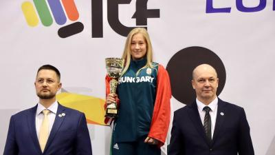 Mezei Nikolett arany és ezüstérmet szerzett a taekwon-do Európa-bajnokságon.