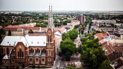 Békéscsaba belvárosa (fotó: Varga Ottó)