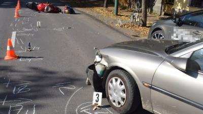 A békési baleset (fotó: police.hu)
