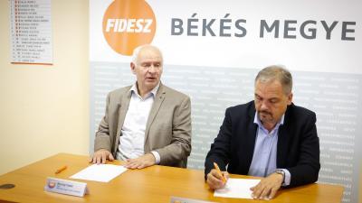 Herczeg Tamás és Zalai Mihály (fotó: Zentai Péter)