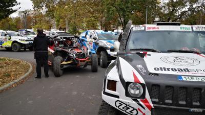 A rallysoktól volt hangos Gyula, október 4-6. között. Fotó: Papp Ádám