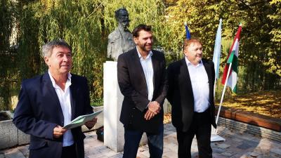 Takács Péter, Miklós Attila és Dr. Fülöp Zoltán értékelte az október 13-ai önkormányzati választás eredményeit. Fotó: Papp Ádám