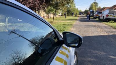 Tragédia történt Kunágotán, 2019.10.08.-án. Fotó: police.hu