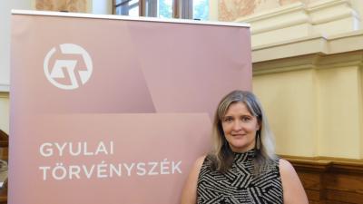 Tázlóné dr. Kiss Mónika. Fotó: Gyulai Törvényszék
