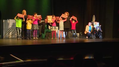 Gála 2019-ben, akkor a színpadon is szárnyalhattak az angyalok (fotó. behir.hu)