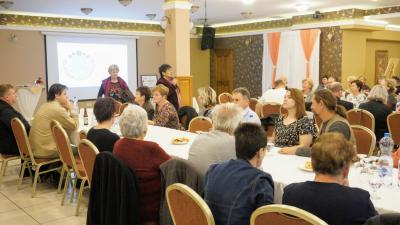 A Békés Megyei Népművészeti Egyesület Békéscsabán tartott konferenciát. Fotó: behir.hu/V.D.