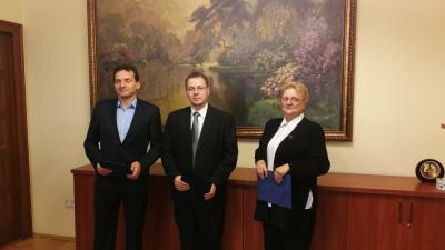 Dr. Szigeti Béla, Paláncz György, dr. Gojdárné dr. Balázs Katalin