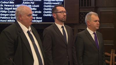 Hanó Miklós, Varga Tamás és Nagy Ferenc (fotó: Ujházi György)