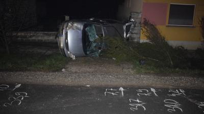 A csorvási baleset (fotó: police.hu)