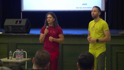 Klein Dávid és Suhajda Szilárd - (Fotó: behir.hu)