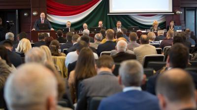 Évindító fórum a Békés Megyei Önkormányzat szervezésében. Fotó: BMÖ/Zentai Péter