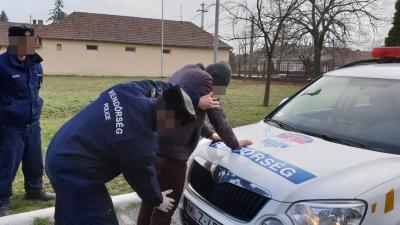 Gyulai határsertők - Fotó: police.hu