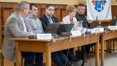 Képviselő-testületi ülés Békésen 2020. 01. 30-án. Fotó: Ga-Pix Fotó