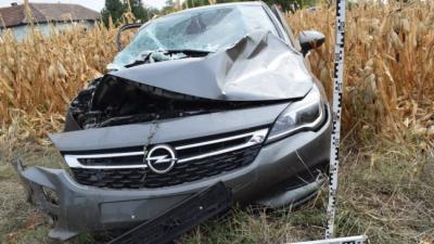 Autó és vonat ütközött még 2019 őszén, Békéscsabán. Forrás: police.hu