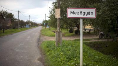 Mezőgyán határa. Fotó: kép: origo.hu