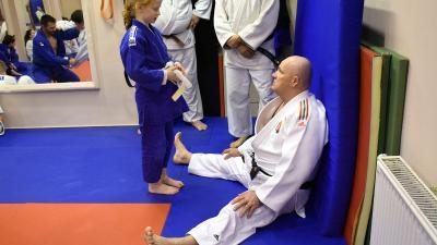 Gyáni János, a BM Kano Judo SE mestere