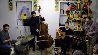 Az Erdőkerülő Quartet a Meseházban