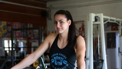 Napi két edzéssel készül a versenyeire – (Fotó: Mitykó Veronika/Facebook)