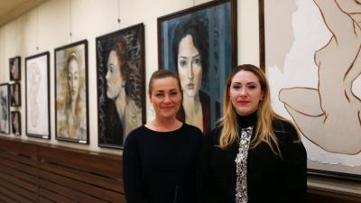 Hotváth-Gazsó Adrienn és Dr. Hollósiné Mancz Fatime Nóra/ Kép: Szilágyi Viktória (Behir.hu)