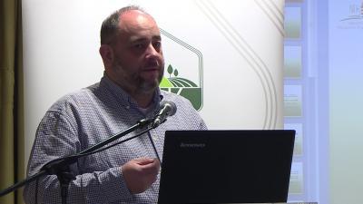 Papp Gergely, a NAK szakmai főigazgató-helyettese – (Fotó: behir.hu)