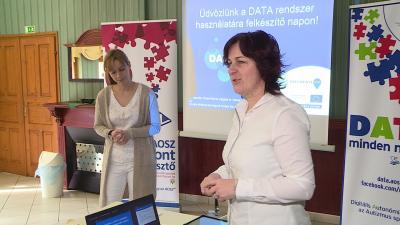 Vargáné Molnár Márta és Kővári Edit