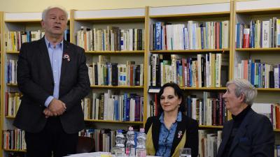 Herczeg Tamás, Gubucz Katalin és Seres Sándor (Fotó: Such Tamás)