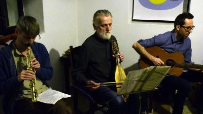 Az Ektár Instrumentál Quintet a Meseházban