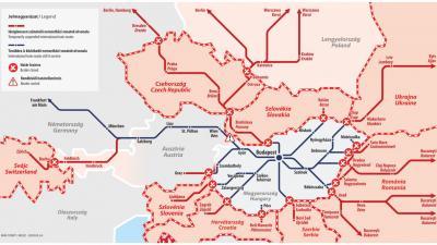 Csak Ausztria felé működik a nemzetközi vasúti személyszállítás Fotó forrás: mavcsoport.hu