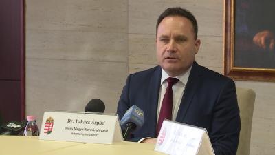 Takács Árpád kormánymegbízott