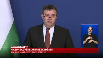 Palkovics László bejelentette a gazdaságvédelmi akcióterv részleteit