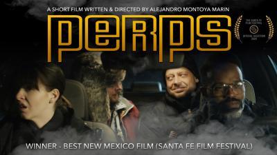 A Perps című rövidfilm plakátja