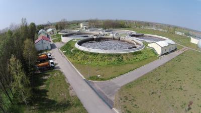 A békéscsabai szennyvíztisztító telep (forrás: euroaszfalt.hu)