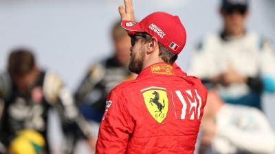Sebastian Vettel – (Fotó: MTI/EPA)