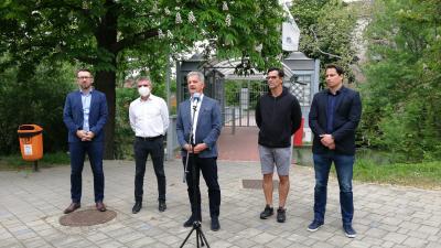 Varga Tamás, Kozma János, Szarvas Péter, Szarvas János és Szilágyi Kristóf (fotó: Hidvégi Dávid)